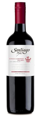 Santiago '1541' Syrah/Cabernet/Malbec 2016