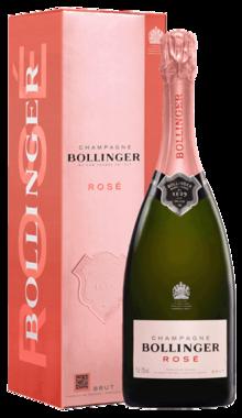 Bollinger Rosé Champagne Brut 0,75 ltr