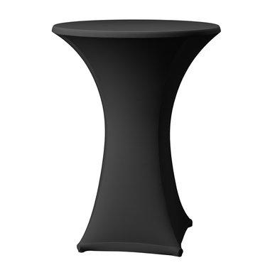 Statafel + stretchrok (zwart)